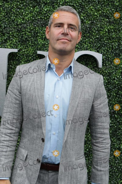 Andy Cohen Photo - Andy Cohen Celebs at Us Open Womens Final at Arthur Ashe Stadium 9-12-2015 John BarrettGlobe Photos