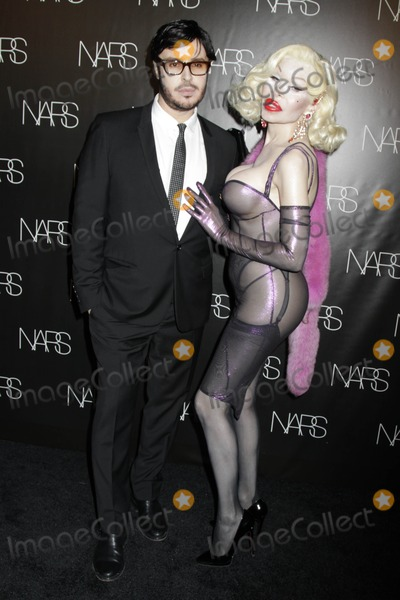 Amanda Lepore Photo - Nars Cosmetics Exclusive Launch Event For Make Up Your Mind Express Yourself the New Book by Francois narscedar Lake Studios nycmay 24 2011photos by Sonia Moskowitz Globe Photos Inc 2011francois Nars Amanda Lepore