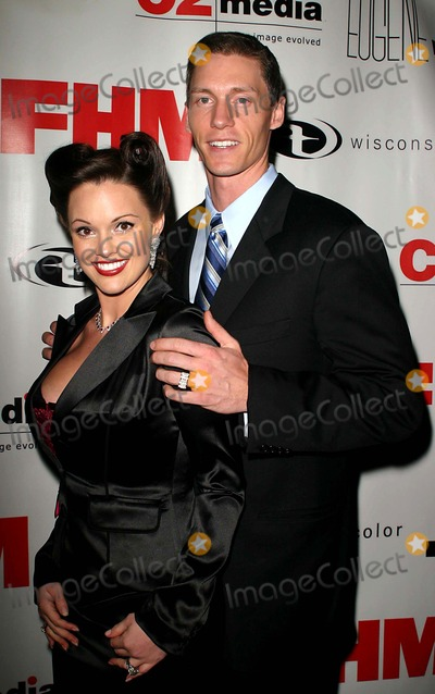 ANNA BENSON Photo - Fhm Hosts Celebrity Charity Event with NY Met Kris Benson and Wife Anna Benson at Eugene  New York City 11-23-2004 Photo by John ZisselipolGlobe Photosinc Kris Benson and Wife Anna Benson