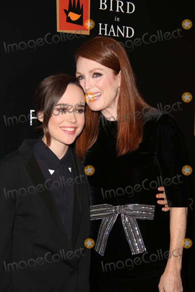 Ellen Page Photo - Ellen Page and Julianne Moore attends the New York Special Screening of Freeheld the Museum of Modern Art NYC September 28 2015 Photos by Sonia Moskowitz Globe Photos Inc