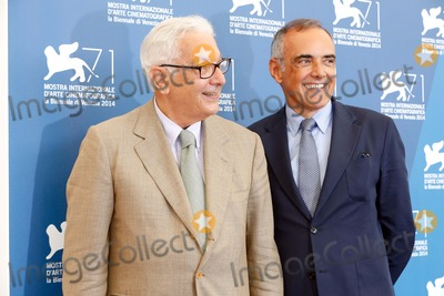 Alberto Barbera Photo - Alberto Barbera and President of the Festival Paolo Baratta at the International Jury Photocall During the 71st Venice Film Festival on August 27 2014 in Venice Italy Kurt Krieger Photos by Kurt Krieger-Globe Photos Inc