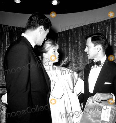 Rock Hudson Photo - Rock Hudson Doris Day and Tony Randall c519-4c Globe Photos Inc Tonyrandallretro
