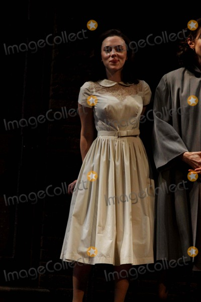 Arthur Miller Photo - Scarlett Johansson in Arthur Millers Playa View From the Bridge at the Cort Theatre NYC 01-20-2010 Photos by John Barrett-Globe Photosinc 2010