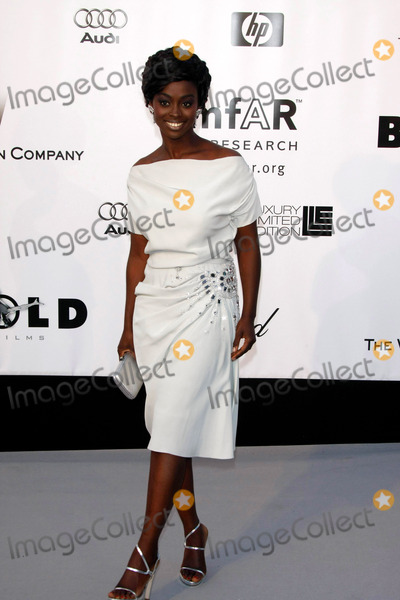 Aissa Maiga Photo - Aissa Maiga Arriving at the Amfar Cinema Aigainst Aids Gala During the 2008 Cannes Film Festival at Moulin de Mougins in Mougins France on May 23nd 2008 Photo by Alec Michael-Globe Photos