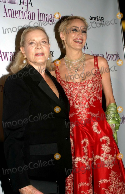 Sharon Stone Photo - the 2004 American Image Awards Grand Hyatt Hotel New York City 05032004 Photo Barry Talesnick  Ipol  Globe Photos Inc 2004 Lauren Bacall and Sharon Stone