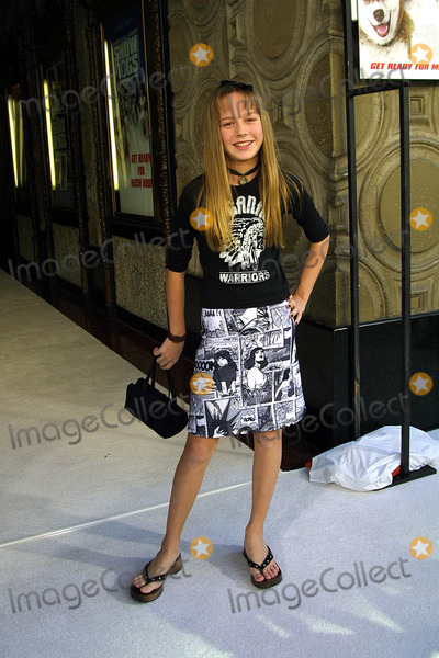 Brie Larson Photo - Brie Larson - the Premiere of Snow Dogs - January 13 2002 - El Capitan Theater Los Angeles CA - Photo by Nina PrommerGlobe Photos Inc2002