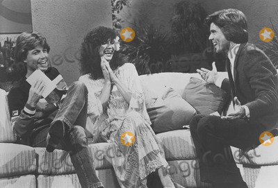 Andy Gibb Photo - Victoria Principal with Andy Gibb on  the John Davidson Show photo by smp-globe Photos Inc