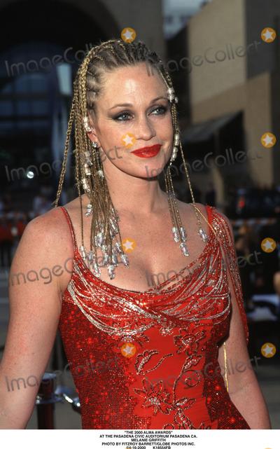 Melanie Griffith Photo - The 2000 Alma Awards at the Pasadena Civic Auditorium Pasadena CA Melanie Griffith Photo by Fitzroy BarrettGlobe Photos Inc 4-16-2000