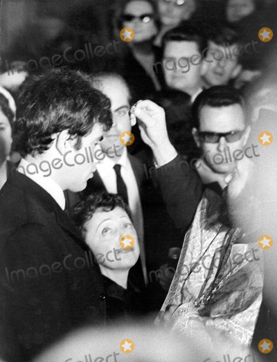 Edith Piaf Photo - Edith Piaf Wedding (with Theo Sarapo) Photo by Reporters AssociesipolGlobe Photos Inc