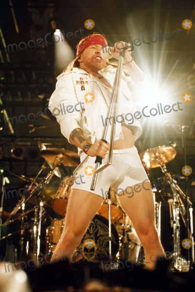 Axl Rose Photo - Freddie Mercury Tribute Axl Rose Photo by Dave Benett-Globe Photos-getty Images