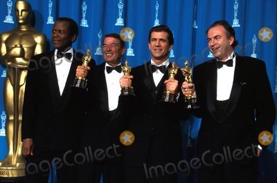 Alan Ladd Photo - the 68th Annual Academy Awards Oscar Ceremony CA Sidney Poitier with Alan Ladd Jr Mel Gibson and Bruce Davey Photo by Lisa RoseGlobe Photos Inc