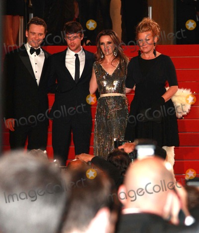 Andrea Arnold Photo - Michael Fassbender Harry Treadaway Kierston Wareing  Andrea Arnold Actors  Director Fish Tank Premiere at the 2009 Cannes Film Festival at Palais Des Festival Cannes France 05-14-2009 Photo by David Gadd-allstar-Globe Photos Inc 2009