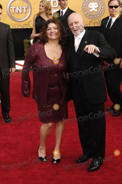 Aida Turturro Photo - 13th Annual Sag Awards (Arrivals) at the Shrine Auditorium on January 28 2007 in Los Angeles California 01-28-2007 Photo by Coverup-Globe Photos 2007 Aida Turturro and Dominic Chianese