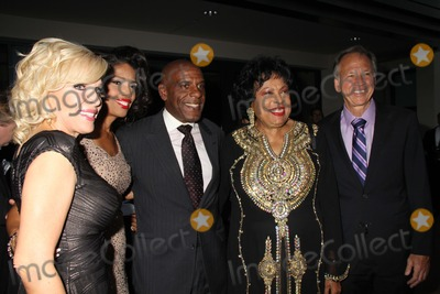 Areva Martin Photo - Special Needs Networks Evening Under the Stars a Toast to Old Hollywood Sony Pictures Studio Culver City CA 10042014 Areva Martin Steven Bradford Diane Watson and Judge Michael P Linfield Clinton H WallacephotomundoGlobe Photos Inc