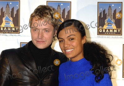 Amel Larrieux Photo - Grammy Fest 2003 Songs of the City a Celebration of NY in Song at the Winter Garden - World Financial Center New York City 1302003 Photo Ken Babolcsay Ipol Globe Photos Inc 2003 Chris Botti Amel Larrieux