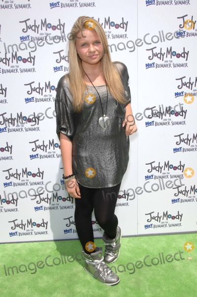 Alli Simpson Photo - Alli Simpson During the Premiere of the New Movie From Relativity Media Judy Moody and the Not Bummer Summer Held at the Arclight Hollywood Cinemas on June 4 2011 in Los angelesphoto Michael Germana  - Globe Photos Inc 2011