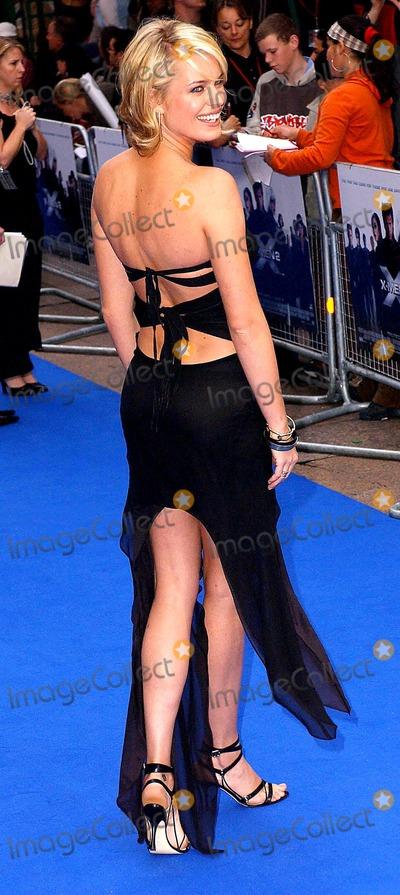 Anna Paquin Photo - Paul HennessyglobelinkukGlobe Photos Inc K30194 04242003 Rebecca Romijn-stamos X Men 2 - Uk Premiere Odeon West End London