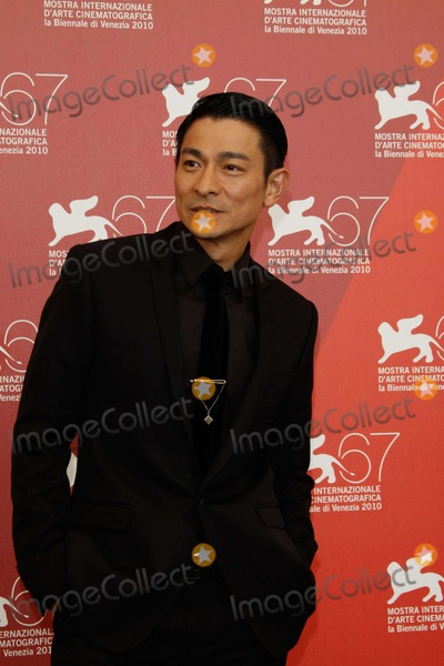 Andy Lau Photo - Andy Lau Detective Dee and the Mystery of Phantom Flame Photocall at the 67th Venice Film Festival Palazzo Del Casino in Venice Italy 09-05-2010 Photo by Alec Michael - Globe Photos Inc 2010