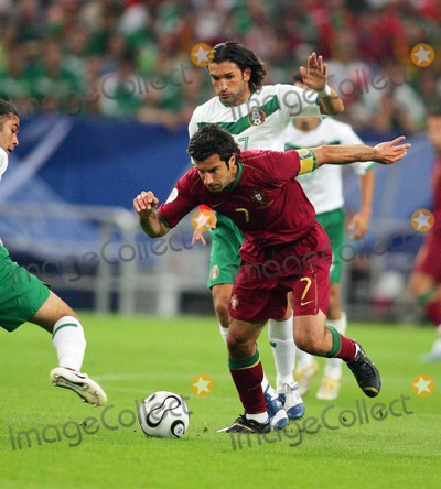 Jose Fonseca Photo - Portugal Vs Mexico Gelsenkirchen Germany 06-21-2006 Photo by Stewart Kendall-allstar-Globe Photos Inc 2006 Luis Figo  Jose Fonseca