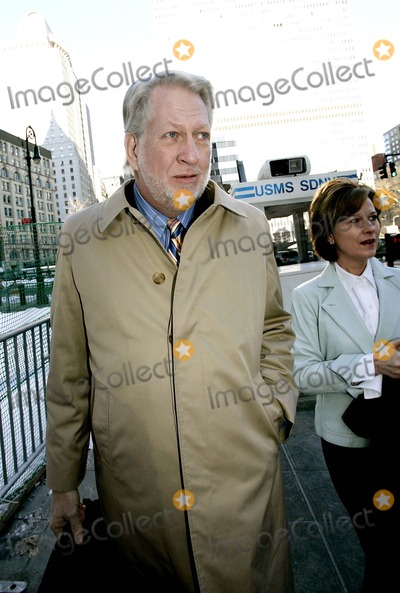 Bernard Ebbers Photo - Bernard Ebbers and His Wife Kristy Arrive at Court Where the Jury in His 11 Billion Dollar Fraud and Conspiracy Trial Was Expected to Be Charged For Their Deliberations of His Guilt or Innocence 3-4-2005 Photo Byrick Maiman-Globe Photos Inc