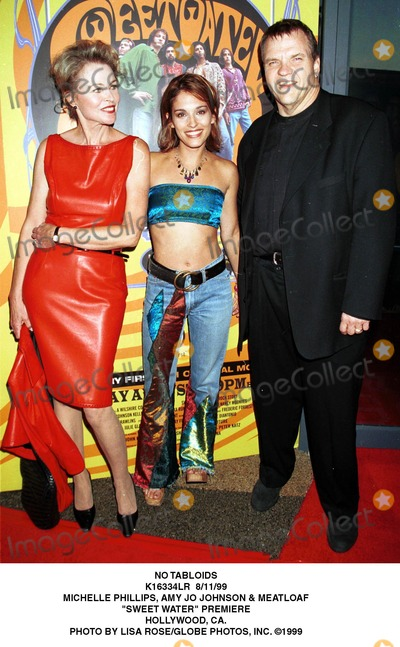 Amy Jo Johnson Photo - No Tabloids K16334lr 81199 Michelle Phillips Amy Jo Johnson  Meatloaf Sewwtwater Premiere Hollywood CA Photo by Lisa RoseGlobe Photos Inc