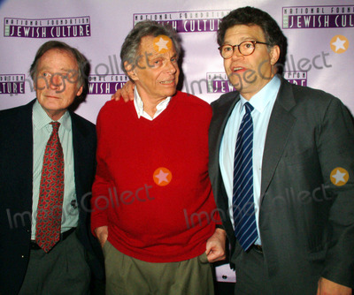 Alan King Photo - K34438MLTHE NATIONAL FOUNDATION OF JEWISH CULTURE TO PRESENT THE FIFTH ANNUAL ALAN KING AWARD IN AMERICAN JEWISH HUMOR TO MORT SAHLAT THE MANDARIN ORIENTAL HOTEL IN  NEW YORK CITY 12042003PHOTO BY MITCHELL LEVYRANGEFINDERGLOBE PHOTOS INC  2003DICK CAVETT_MORT SAHL_AL FRANKEN