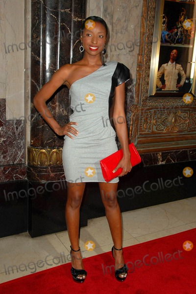 Trenyce Photo - Trenyce Cobbins attends the Opening of the Broadway Play the Color Purple at the Pantages Theatre in Hollywood CA 021110 Photo by D Long- Globe Photos Inc 2009