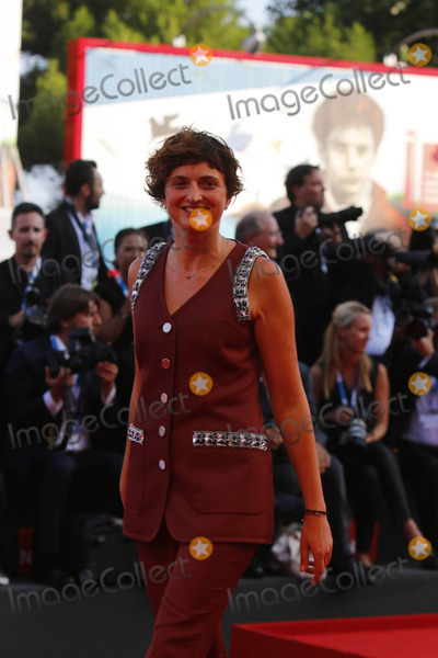 Alice Rohrwacher Photo - Director Alice Rohrwacher attends the Premiere of Birdman and Opening Ceremony of the 71st Venice International Film Festival Aka Mostra Internazionale Darte Cinematografica at Palazzo Del Cinema on the Lido in Venice Italy on 27 August 2014 Photo Alec Michael