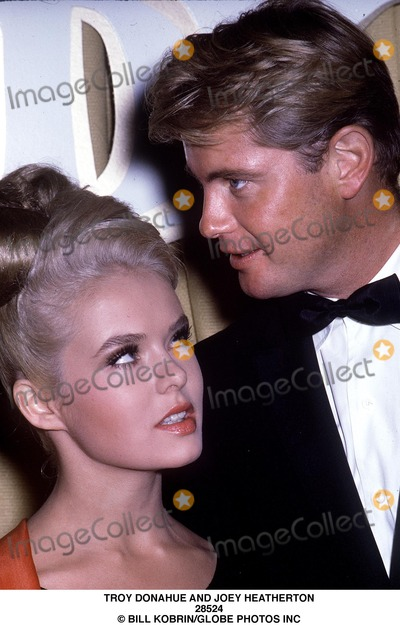 Joey Heatherton Photo - Troy Donahue and Joey Heatherton 28524 Bill KobrinGlobe Photos Inc