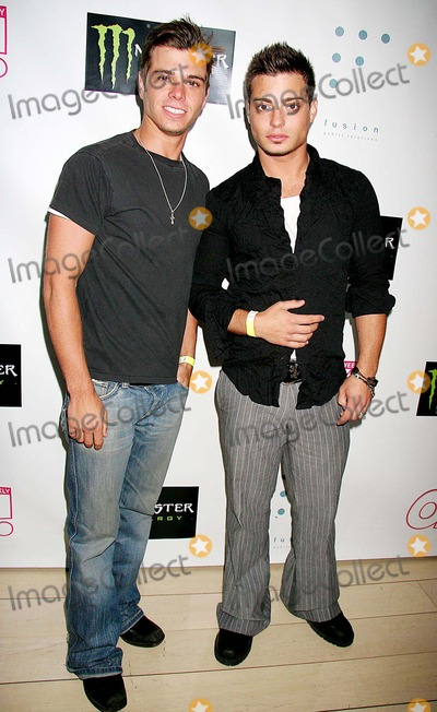 Andrew Lawrence Photo - Shane West  Eric Podwall 4th Annual Birthday Bash Presented by OK Weekly  Monster Energy- Arrivals Skybar West Hollywood CA 06-25-2006 Photo Clinton H Wallace-photomundo-Globe Photos Inc Andrew Lawrence and Matthew Lawrence
