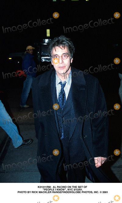 Al Pacino Photo -  AL Pacino on the Set of People I Know NYC 31201 Photo by Rick Mackler RangefinderGlobe Photos Inc
