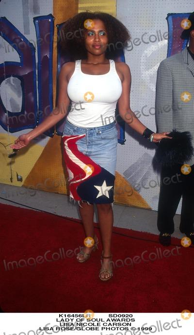Lisa Nicole Carson Photo - Sd0920 Lady of Soul Awards Lisa Nicole Carson Lisa RoseGlobe Photos