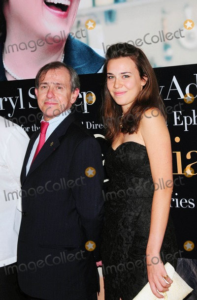 ANDRE COINTREAU Photo - at the Premiere of Julie  Julia at the Ziegfeld Theater in New York City on 07-30-2009 Photo by Ken Babolcsay-ipol-Globe Photos Inc Andre Cointreau with Daughter Isaure Cointreau