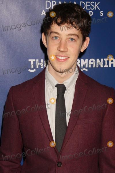 Alex Sharp Photo - Alex Sharp the Curious Incident at Drama Deck Awards Nominees Reception at New World Stages W50st 5-6-2015 John BarrettGlobe Photos
