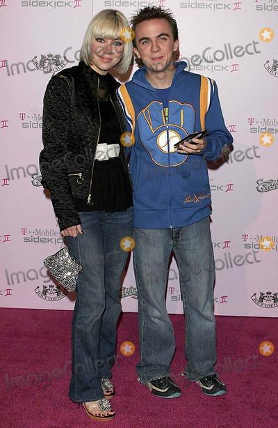 Frankie Muniz Photo - Frankie Muniz and Fiance Jamie - T-mobile Sidekick Series Ii Launch Party - Hollywood California - 10182005 - Photo by Nina PrommerGlobe Photos Inc 2004