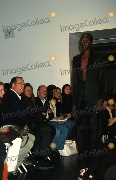 Alex Wek Photo - 092003 New York Diane Von Furstenberg Fall 2003 Fashion Show Photo by Rose HartmanGlobe Photos Inc K28877rhart Alex Wek