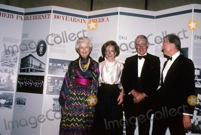 Jimmy Carter Photo - Jimmy Carter with Rosalynn Carter 1983 N1126c Photo by John Barrett-Globe Photos Inc