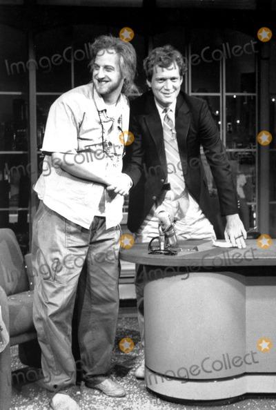 Chris Elliott Photo - Late Night with David Letterman David Letterman_chris Elliott Globe Photosinc