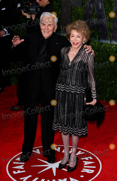 Anne Buydens Photo - Kirk Douglas Anne Buydens Actor and Wife the 2010 Vanity Fair Oscar Party Held at the Sunset Tower Hotel in West Hollywood California on 03-07-2010 Photo by Graham Whitby Boot-allstar-Globe Photos Inc