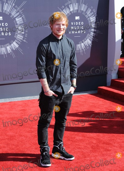 Ed Sheeran Photo - Ed Sheeran attending the 2014 Mtv Video Music Awards - Arrivals Held at the Forum in Inglewood California on August 24 2014 Photo by D Long- Globe Photos Inc