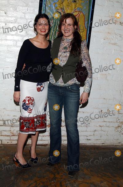 Carmen Llywellyn Photo -  Mary Steenburgen Presents the Works of Artist America LA CA 02212002 Photo by Amy GravesGlobe Photosinc2002 Carmen Llywellyn and Mariah Obrian