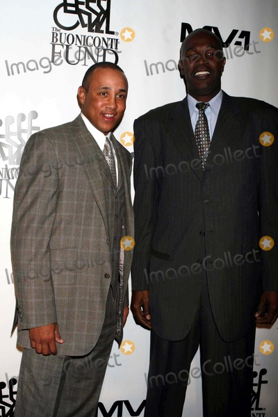 Herb Williams Photo - John Starks and Herb Williams at Great Sports Legends Dinner to Benefit the Buoniconti Fund to Cure Paralysis at Waldorf Astoria Hotel Newyork City 10-06-2009 Photos by John Barrett-Globe Photos