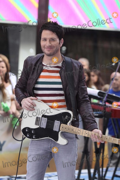 Adam Young Photo - Adam Young of Owl City Performs on NBC Today Show at Rockefeller Plaza 8-23-2012 Photo by John BarrettGlobe Photos