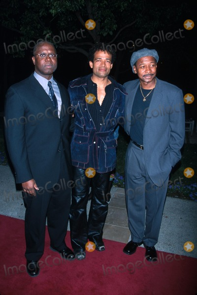Andre Braugher Photo -  21202 the Film Premiere of 10000 Black Men Named George at the Paramount Theater in Los Angeles CA Andre Braugher with Mario Van Peebles and Robert Townsend Photo by Milan RybaGlobe Photos Inc
