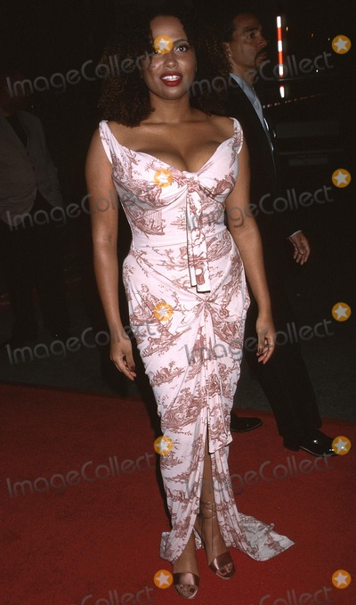 Lisa Nicole Carson Photo -  Naacp Image Awards Universal Amphatheatre Universal City CA 02232002 Lisa Nicole Carson Photo by Ed GellerGlobe Photosinc