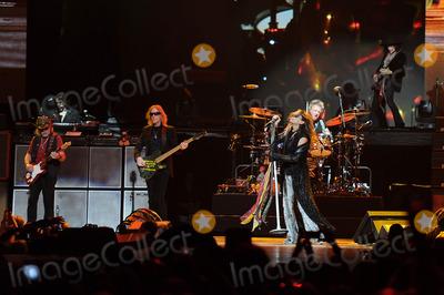 Tom Hamilton Photo - TAMPAFL DECEMBER 30 Brad WhitfordTom HamiltonSteven TylerJoey Kramer and Joe Perry  of Aerosmith perform in Tampa  Florida (Photo by NGS Media)