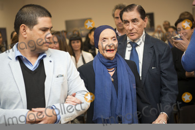 Alicia Alonso Photo - SEVILLE SPAIN November 4 Alicia Alonso arrival at the presentation of the book -Alicia Alonso or eternity of Giselle- of the writer Giselle Mayda Bustamante in the theater La Maestranza in Seville Spain