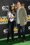 A J Hawk Photo - 21 February 2011 - Santa Monica California - AJ Hawk and guest 1st Annual Cartoon Network Hall of Game Awards held at Barker Hangar Photo Byron PurvisAdMedia