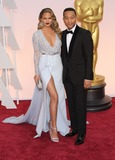 Photo - 22 February 2015 - Hollywood California - Chrissy Teigen John Legend 87th Annual Academy Awards presented by the Academy of Motion Picture Arts and Sciences held at the Dolby Theatre Photo Credit AdMedia