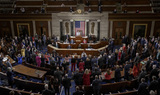 Photos From Swearing-in Ceremony for members of 117th Congress